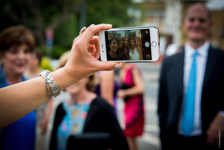 selfie sposi matrimonio