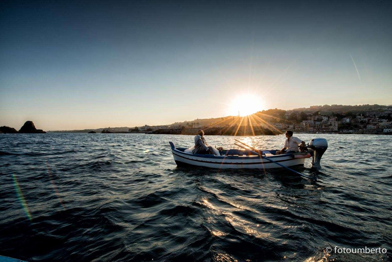 sposi barca sicilia