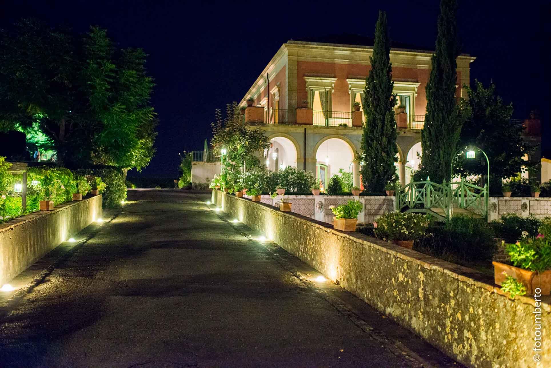matrimoni giardini villa fago