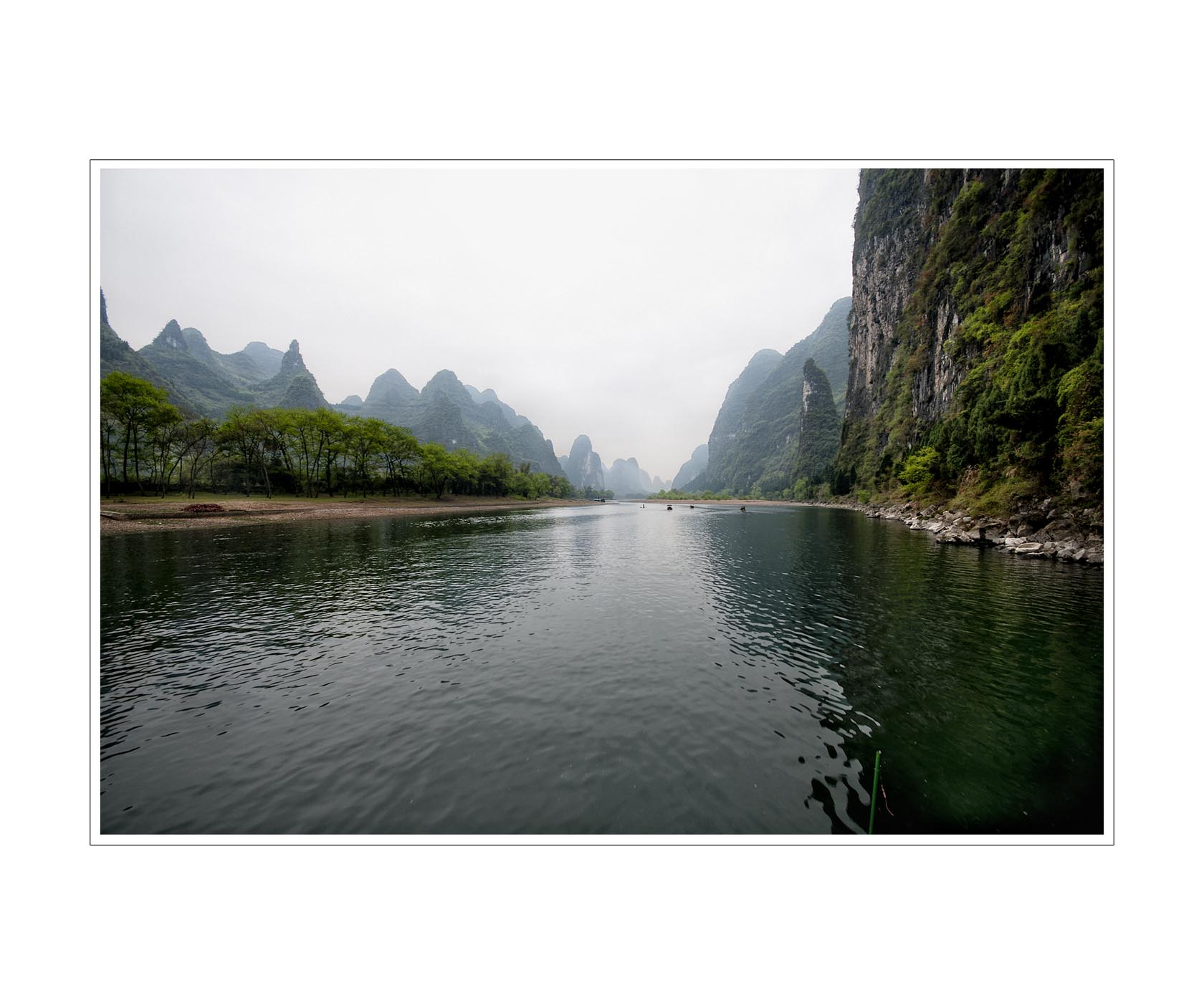 Il fiume Li