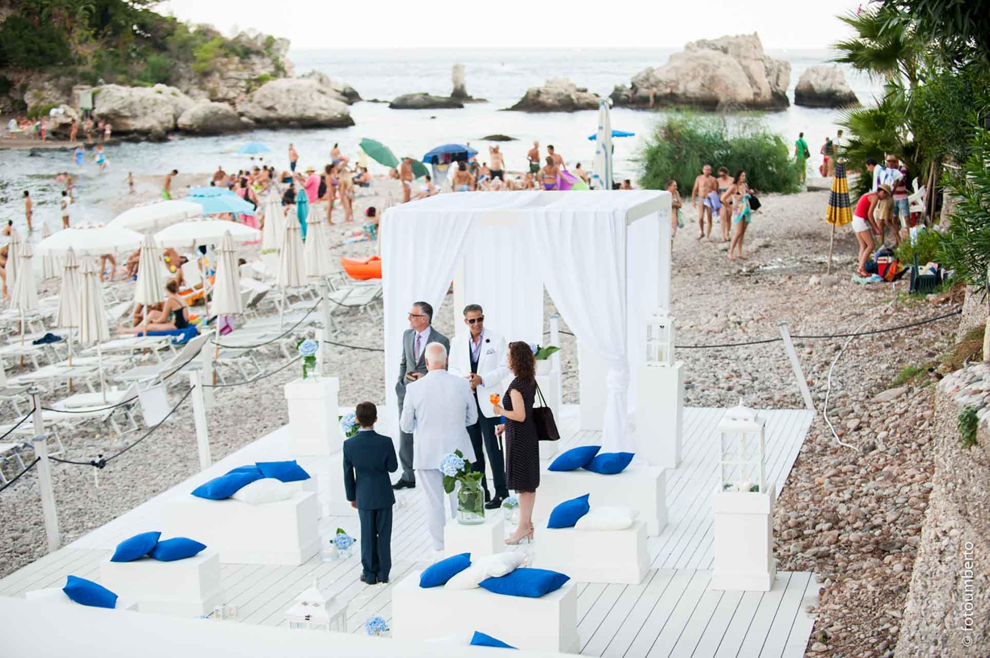 la plage matrimonio