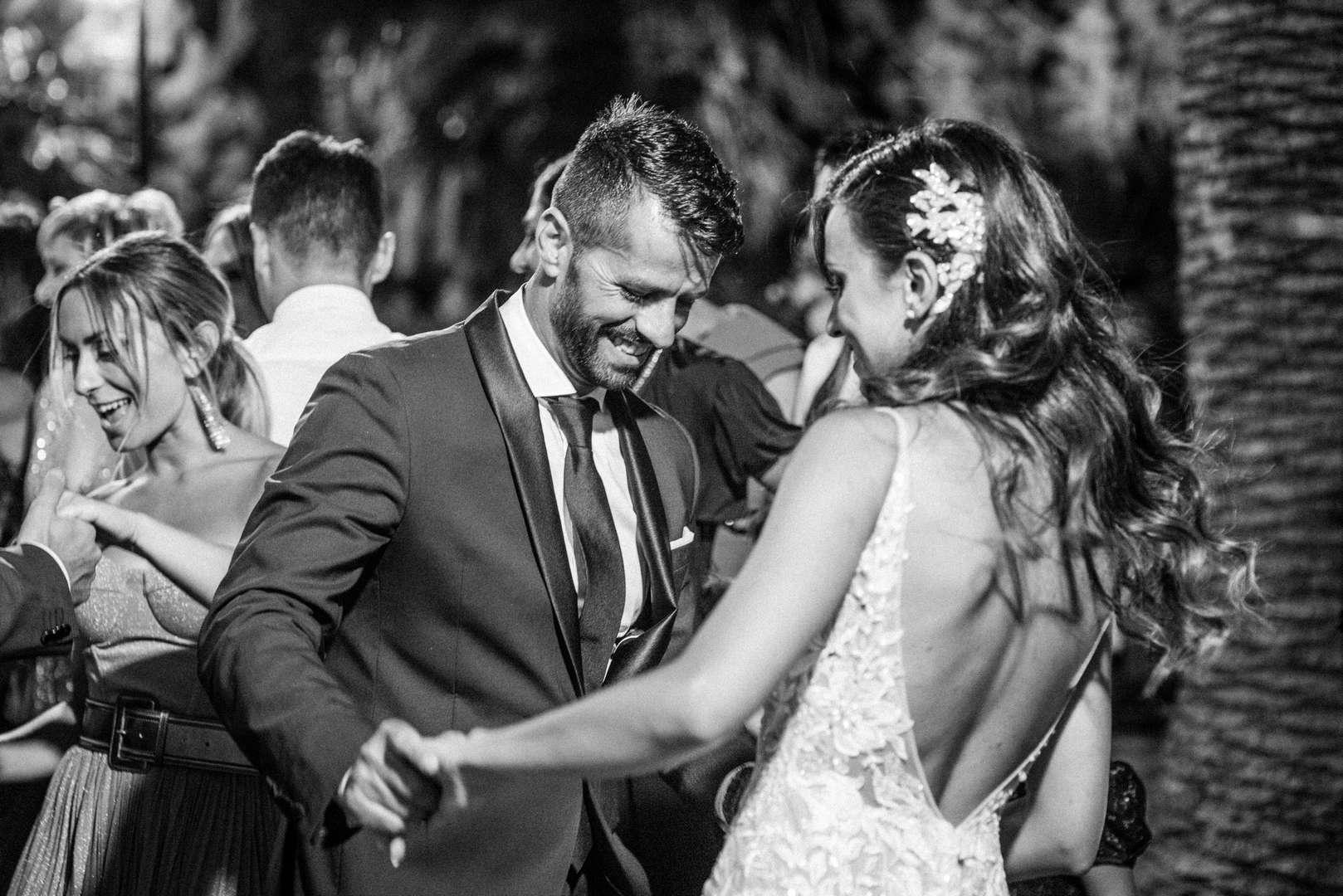 la sposa balla con il cognato
