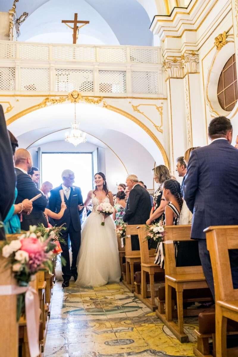 ingresso sposa in chiesa