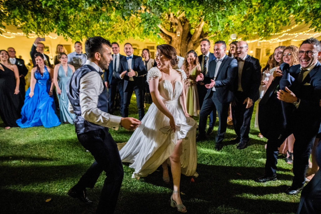 ballo sposi al matrimonio