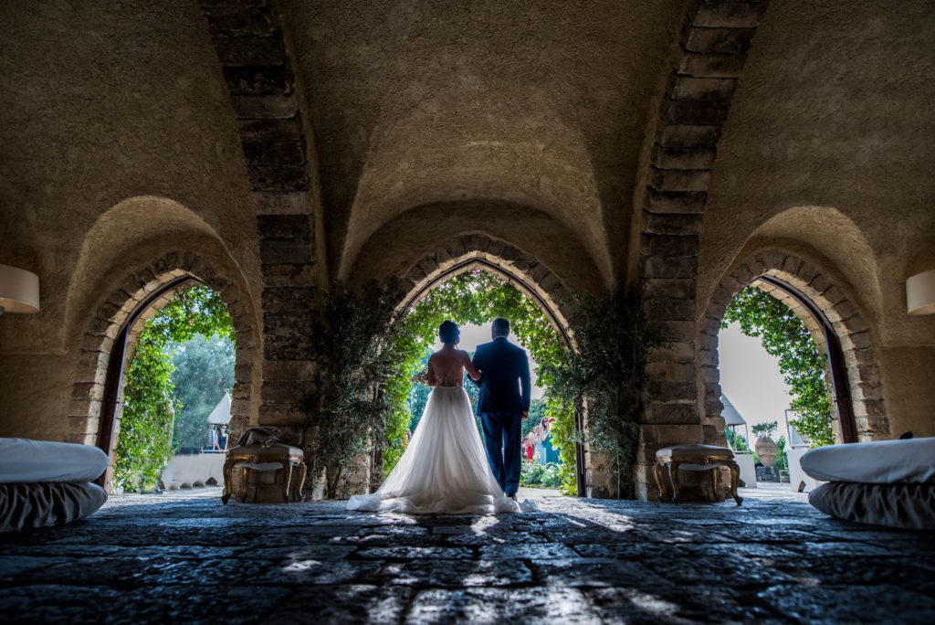arrivo sposa cerimonia