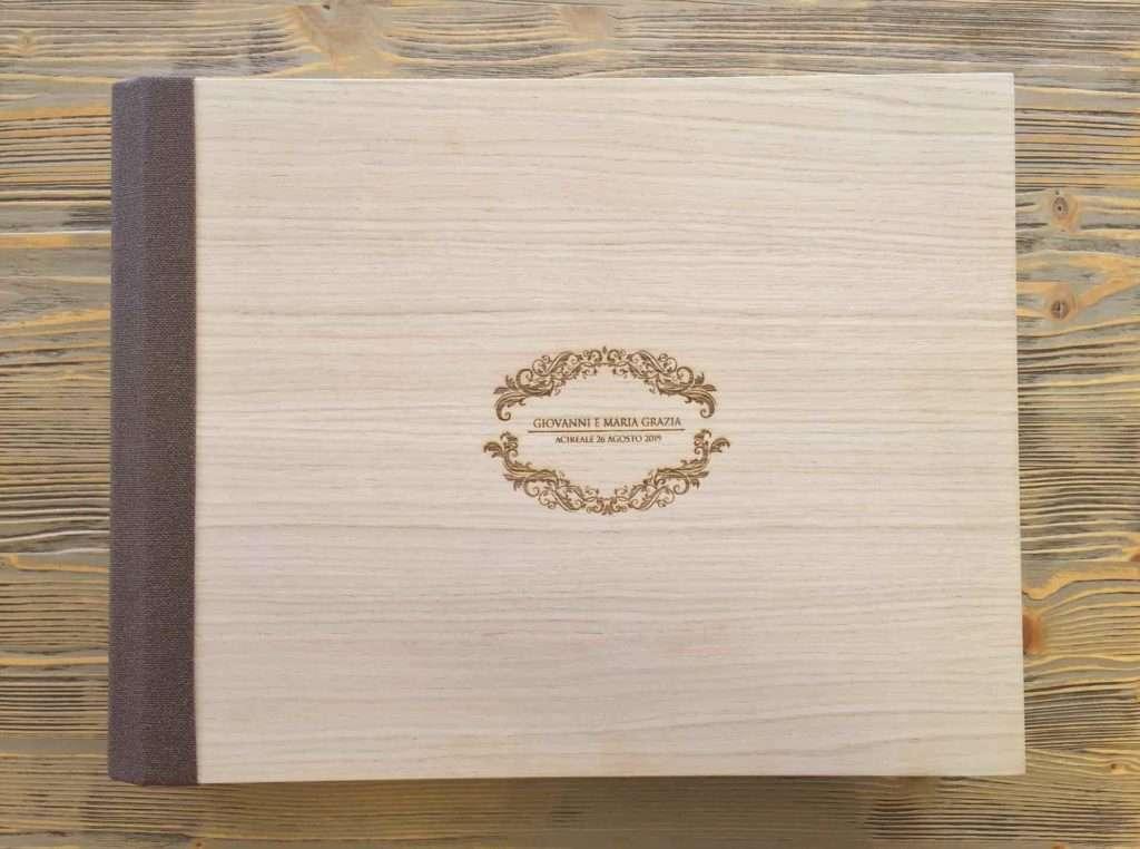 album in legno