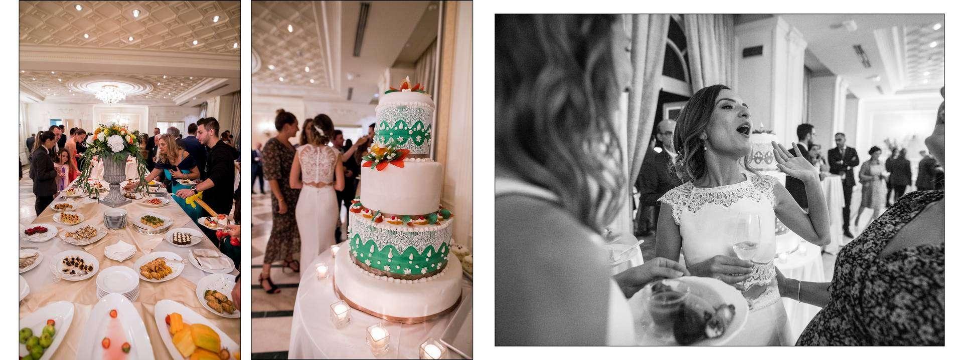 torta del matrimonio