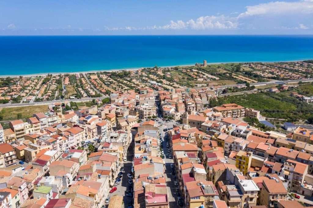 foto aeree sicilia