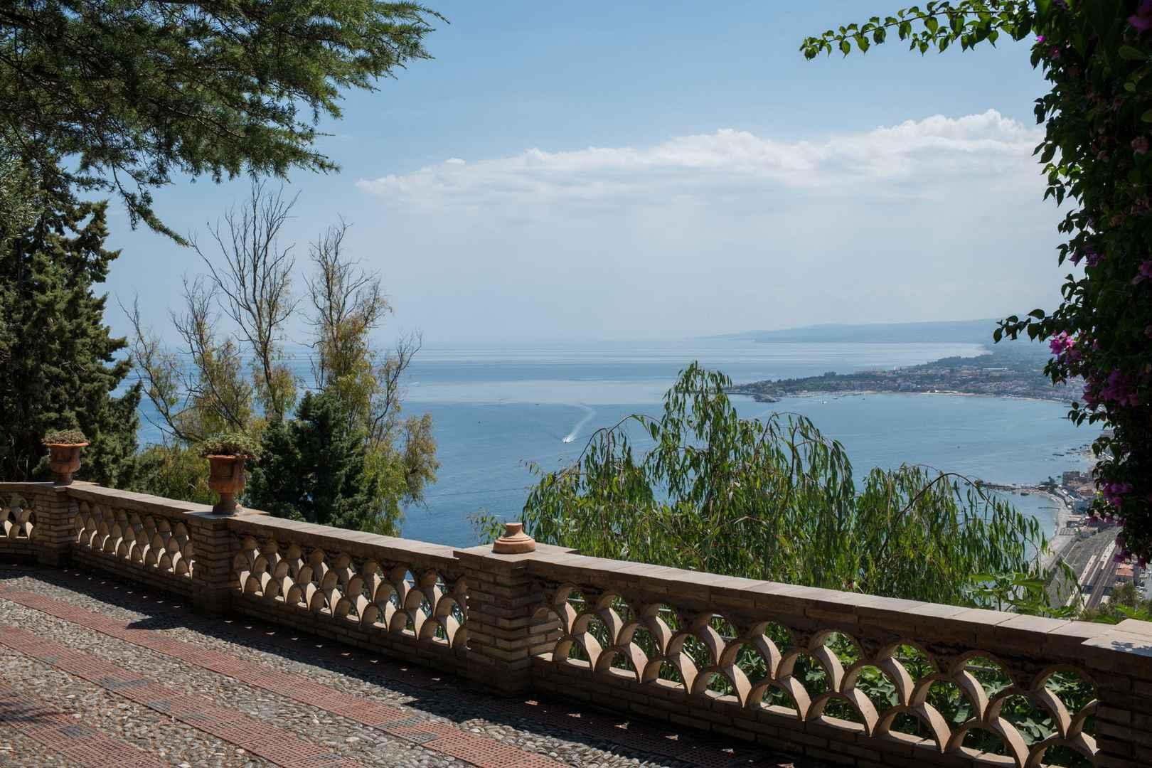villa di taormina
