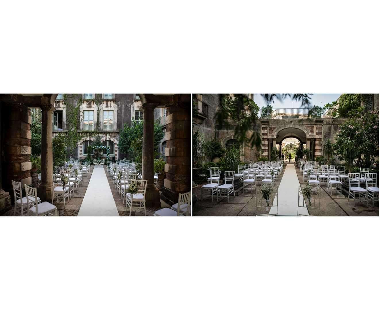 palazzo biscari wedding